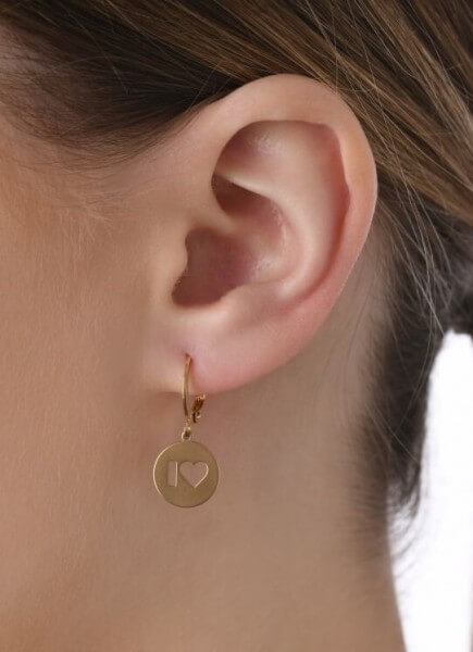 Ohrhänger I Love