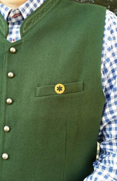 Anstecknadel Blume - Edelweiss