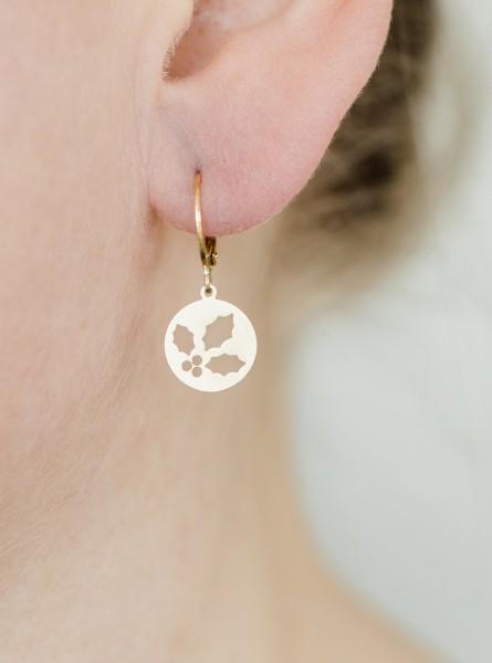 Ohrhänger Stechpalme