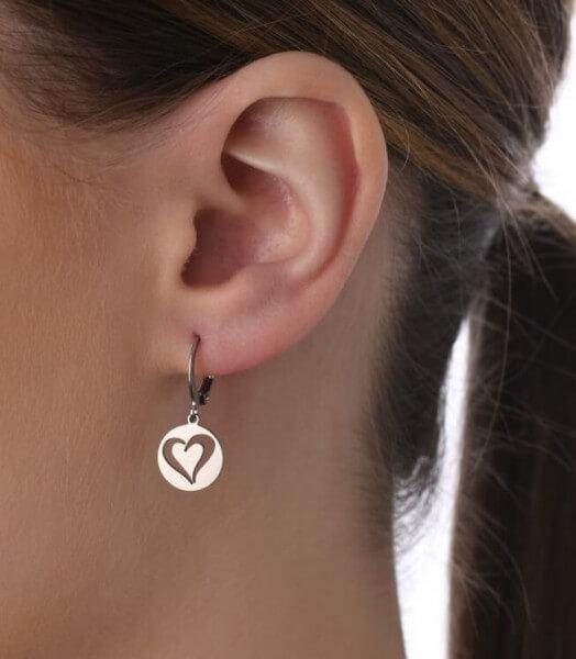 Ohrhänger Herz Senegal
