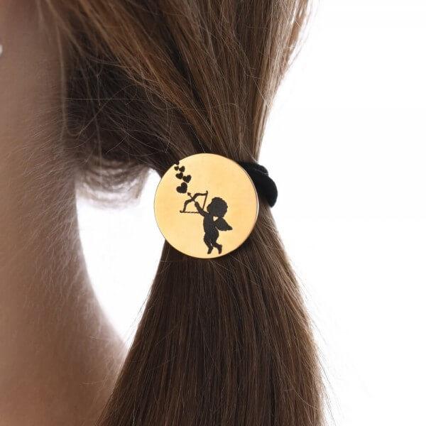 veduta-haargummi-personalisiert-amor-edelstahl-vergoldet-schlichte-eleganz-schmuck