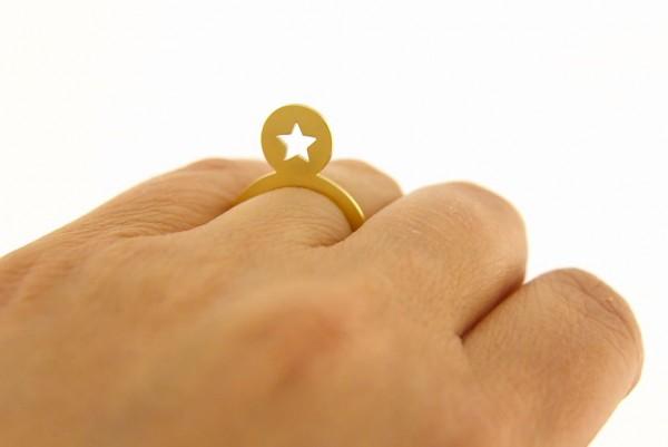 Symbolring Stern