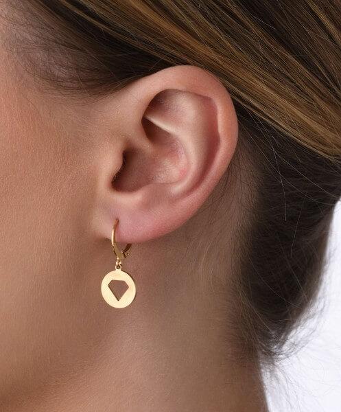 Ohrhänger Diamant
