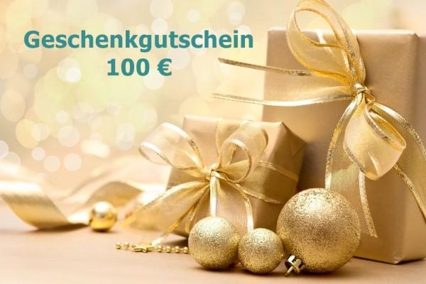 Geschenkgutschein 100 €