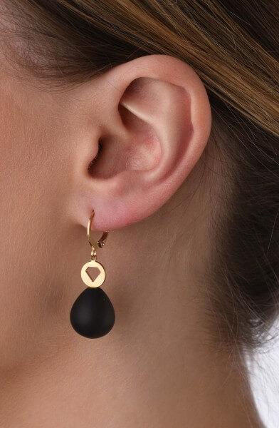 Ohrhänger Diamant mit Edelstein