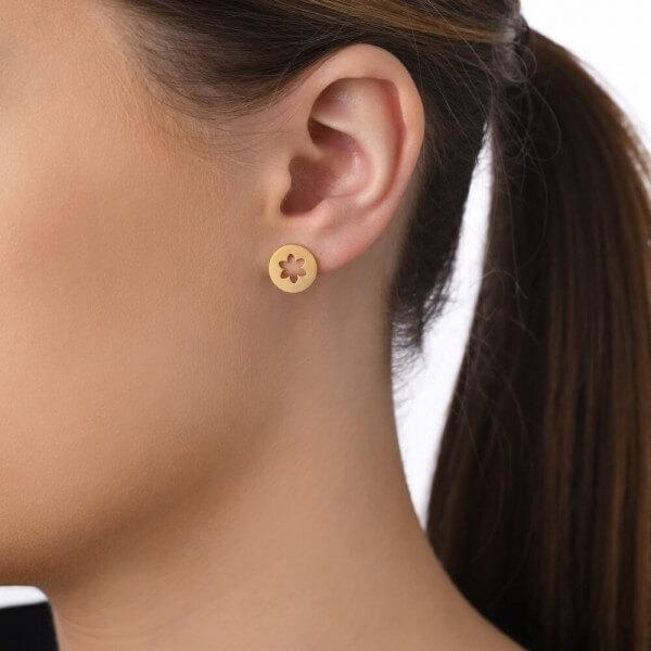 veduta-ohrstecker-blume-edelweiss-vergoldet